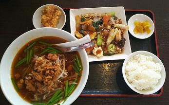 八宝菜 台湾ラーメン