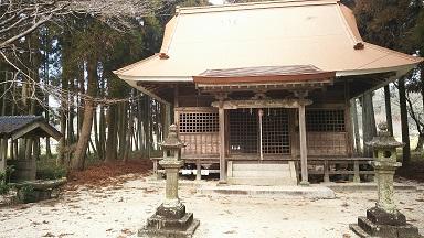 白角折神社